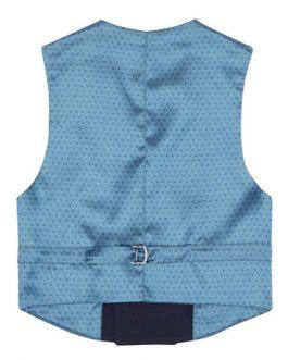 1880 Club Boys Navy Double Breasted Waistcoat