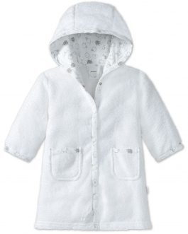 Schiesser Soft Terry Towelling Hooded Bathrobe