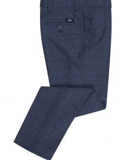 1880 Club Boys Blue Check Trousers