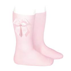 Condor Baby Pink Baby Socks With Bow