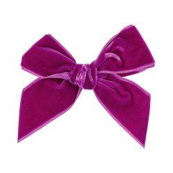 Condor Girls Pink Velvet Hair Bow