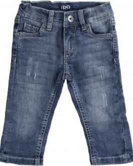 iDO Boys Slim Fit Stretch Denim Trousers